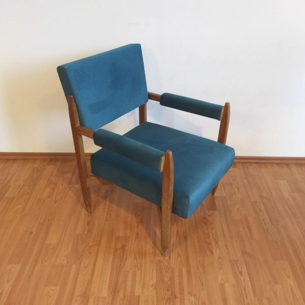Mid Century Lounge Armchair, Cocktail Chair, Vintage Armchair, Scandinavian Design, 60s