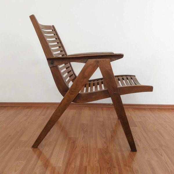 Vintage Rex 120 Lounge Chair, Original Rex 120, Niko Kralj, 60s