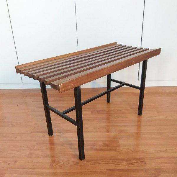 Vintage Teak Side Table, Coffe table, Scandinavian Design, 60s