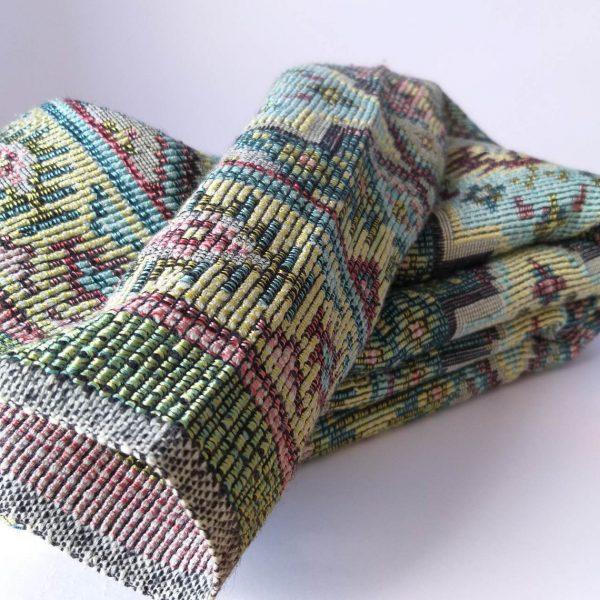 Vintage Blanket, Vintage Bed Cover, Decorative Carpet, Rug, Multipurpose Textile, Home Decor, 60s