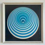 Vintage Victor Vasarely Fine Art Prints, Opart Prints, Framed Prints, 70s