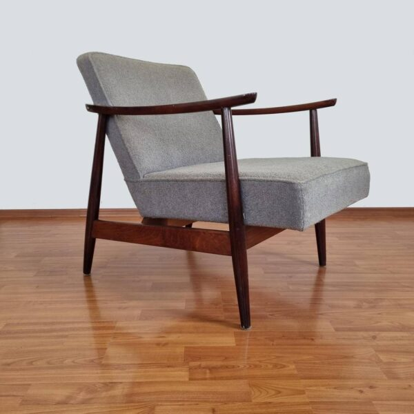 Mid Century Scandinavian Design Armchair, Vintage Lounge Chair, 60s