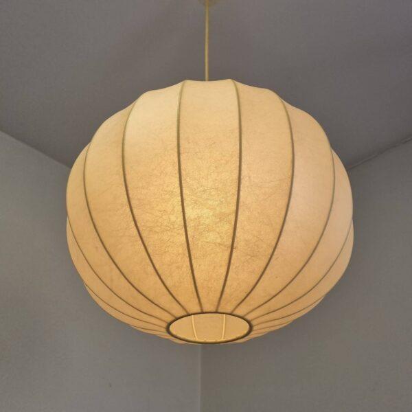 Mid Century Cocoon Lamp, Castiglioni Design, Italy 70s