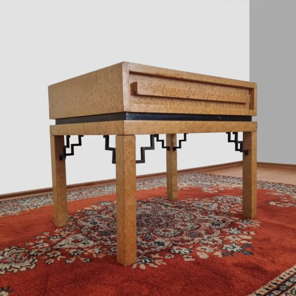 Mid Century Side Table, Vintage Italian Nightstand, 70s